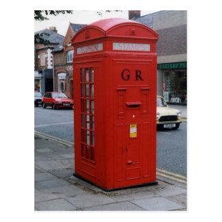 イギリスのジョージ五世レターボックス1929年 ポストカード