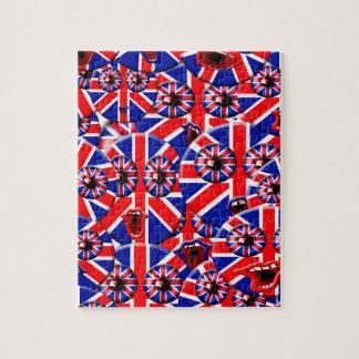 イギリスのスマイリー ジグソーパズル