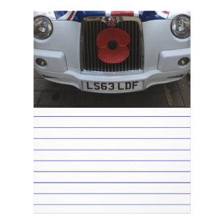 イギリスのタクシー レターヘッド