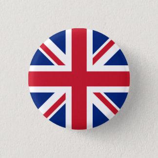 イギリスのバッジ-英国国旗 3.2CM 丸型バッジ