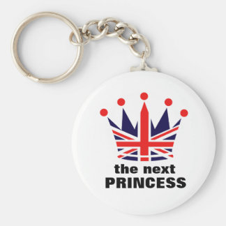 イギリスのプリンセスの王冠 キーホルダー