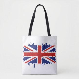 イギリスのペンキの旗 トートバッグ