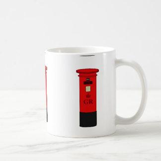 イギリスのポスト箱 コーヒーマグカップ