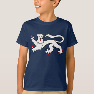 イギリスのライオンのイギリスのライオンの頂上 Tシャツ