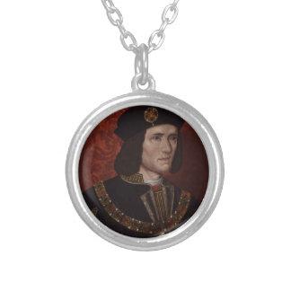 イギリスのリチャード三世 シルバープレートネックレス