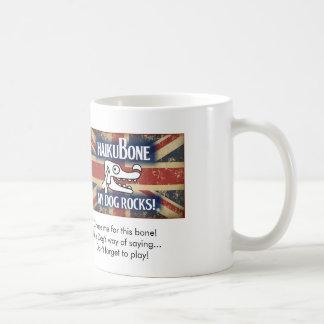 """イギリスの侵入のロゴは""""遊ぶために忘れません! """" コーヒーマグカップ"""