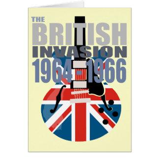 イギリスの侵入2 グリーティングカード