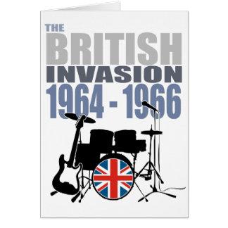 イギリスの侵入III グリーティングカード