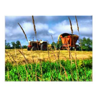 イギリスの北の新しい農場 フォトプリント