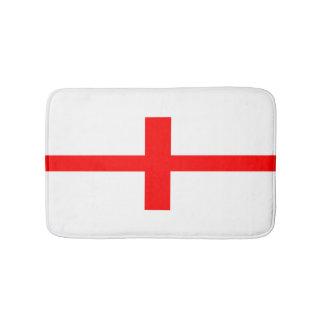 イギリスの国旗の長い記号の英国の一流の文字 バスマット