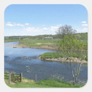 イギリスの川 スクエアシール