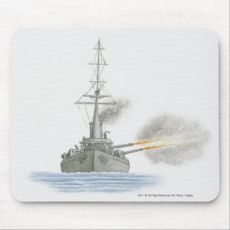 イギリスの巡洋戦艦 マウスパッド