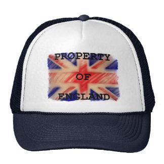 イギリスの帽子の特性 キャップ