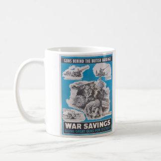 イギリスの戦時ポスターの重版 コーヒーマグカップ