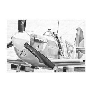 イギリスの戦闘機 キャンバスプリント