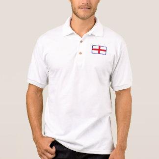 イギリスの旗のゴルフポロ ポロシャツ