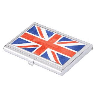 イギリスの旗のヴィンテージ 名刺入れ