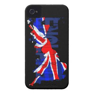 イギリスの旗の地図02のiphone 4ケース Case-Mate iPhone 4 ケース