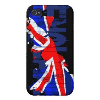 イギリスの旗の地図02のSpeckの場合 iPhone 4/4S ケース