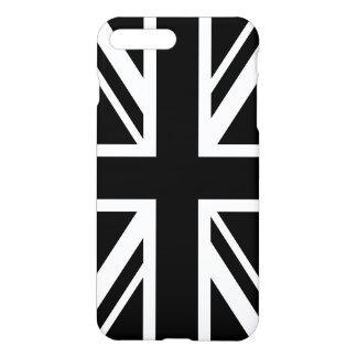 イギリスの旗の白黒 iPhone 8 PLUS/7 PLUSケース
