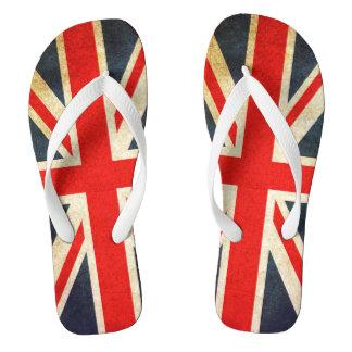 イギリスの旗の英国国旗のモザイク習慣のビーチサンダル ビーチサンダル