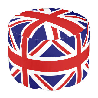 イギリスの旗の英国国旗 プーフ