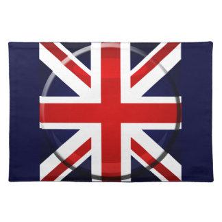 イギリスの旗の英国国旗GB ランチョンマット