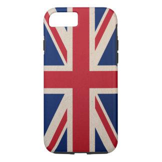 イギリスの旗のiPhone 7の場合の堅いiPhone 7の場合 iPhone 8/7ケース