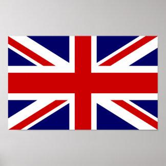 イギリスの旗ポスター|英国国旗のデザイン ポスター