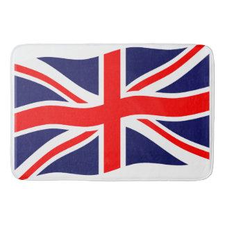 イギリスの旗 + あなたのアイディア バスマット