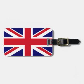 """""""イギリスの旗""""の荷物のラベル ラゲッジタグ"""