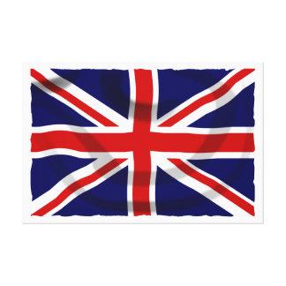 イギリスの旗 キャンバスプリント