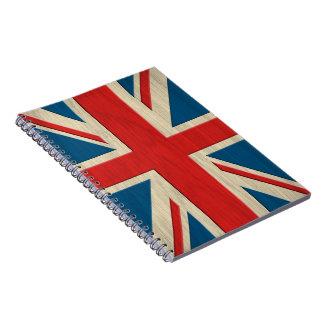 イギリスの旗 ノートブック