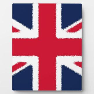 イギリスの旗 フォトプラーク