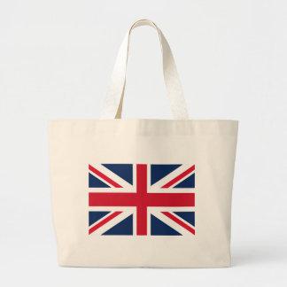 イギリスの旗 ラージトートバッグ
