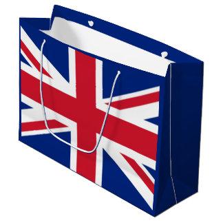 イギリスの旗 ラージペーパーバッグ