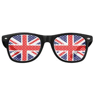 イギリスの旗 レトロサングラス