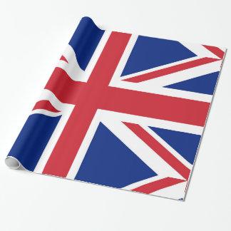イギリスの旗。 英国国旗 ラッピングペーパー