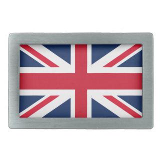 イギリスの旗 長方形ベルトバックル