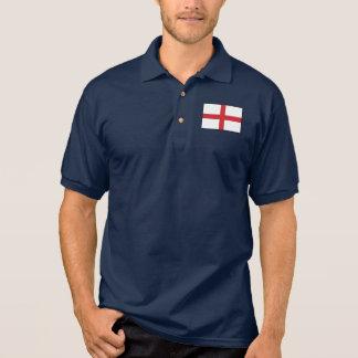 イギリスの明白な旗 ポロシャツ
