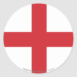 イギリスの明白な旗 ラウンドシール