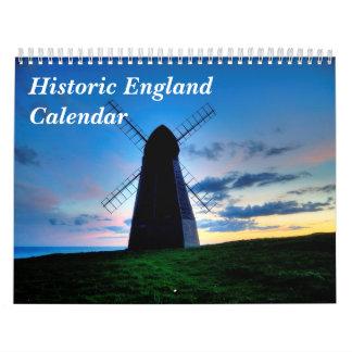 イギリスの歴史的なカレンダー カレンダー