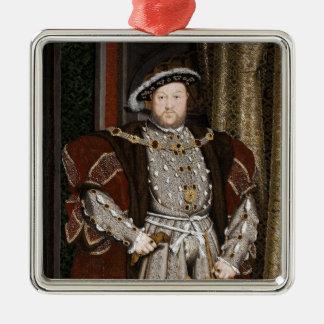 イギリスの王ヘンリー八世 メタルオーナメント