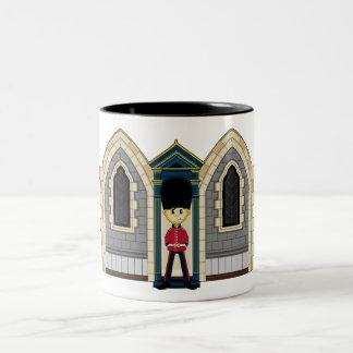 イギリスの王室のな監視マグ ツートーンマグカップ