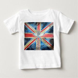 イギリスの男の子 ベビーTシャツ