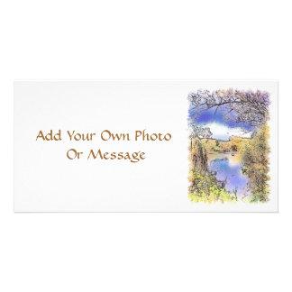 イギリスの眺め カード
