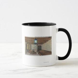 イギリスの砦、フランスのなバラック、粉Magazin マグカップ