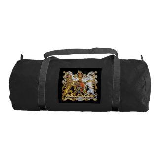イギリスの紋章付き外衣 ジムバッグ