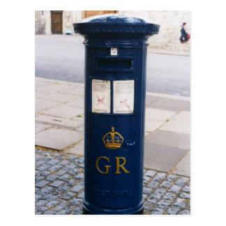 イギリスの航空便の郵便ポスト ポストカード