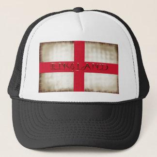 イギリスの英国のグランジな旗のセントジョージの十字 キャップ